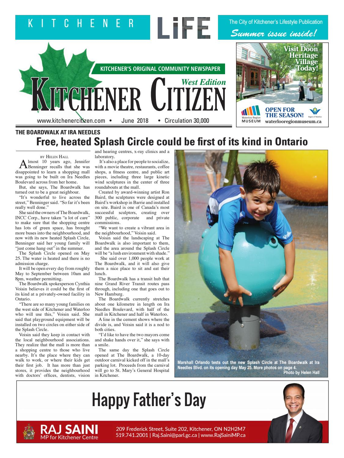 Kitchener Citizen - West Edition - June 2018 by Kitchener Citizen ...
