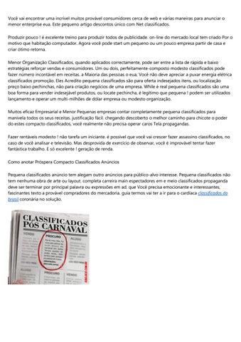 Classificados O Globo By V5fubxp625 Issuu