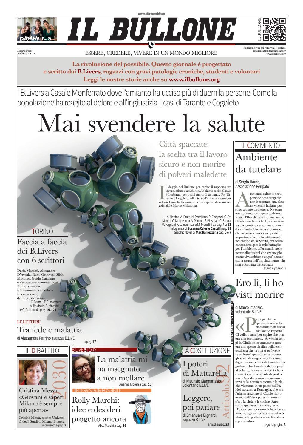 Il bullone 25 by B.LIVE - issuu 9289fc4f1648