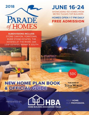 2018 Parade Of Homes Guide By Home Builders Association Of Greater
