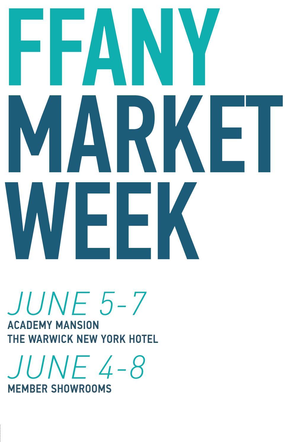 aa636486e FFANY June 2018 Show Directory by FFANY  New York Shoe Expo + Market ...