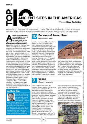 Page 14 of Top 10 Ancient Sites of the Americas