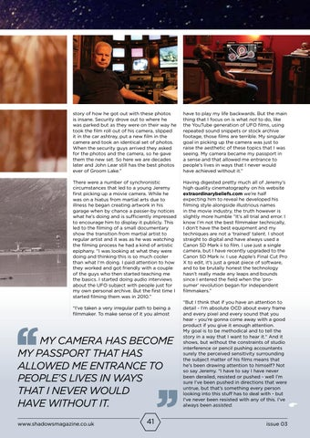 Page 41 of Jeremy Corbell - Independent Filmmaker