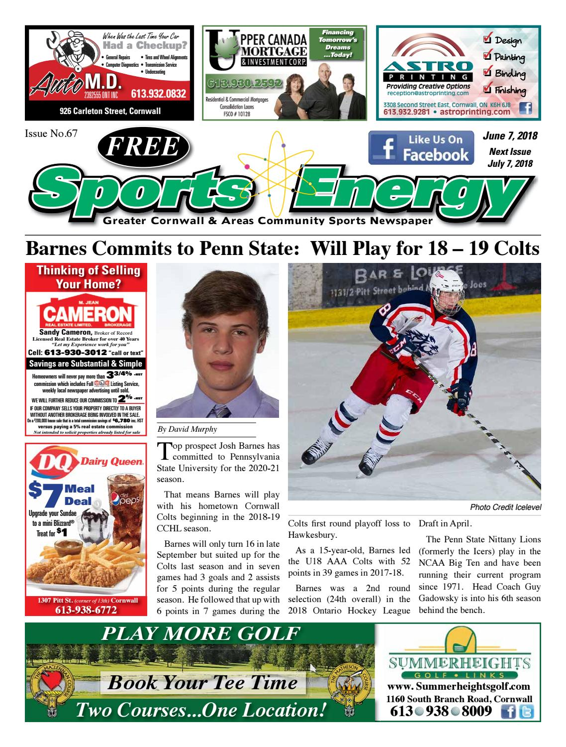 Sports Energy News Cornwall Issue No 67 Mike Piquette