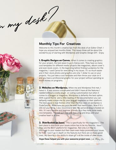 Page 69 of Monthly Tips For Creatives