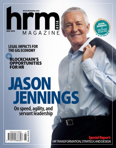 HRM May 2018 Jason Jennings - On speed, agility and servant