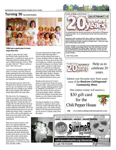 Page 3 of RCC News 20 years: Turning 50