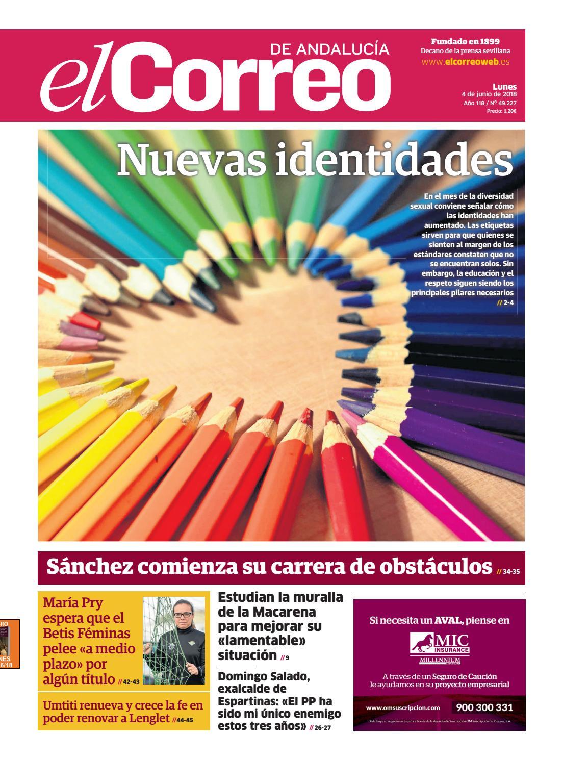 04.06.2018 El Correo de Andalucía by EL CORREO DE ANDALUCÍA S.L. - issuu 97bef4630f50b