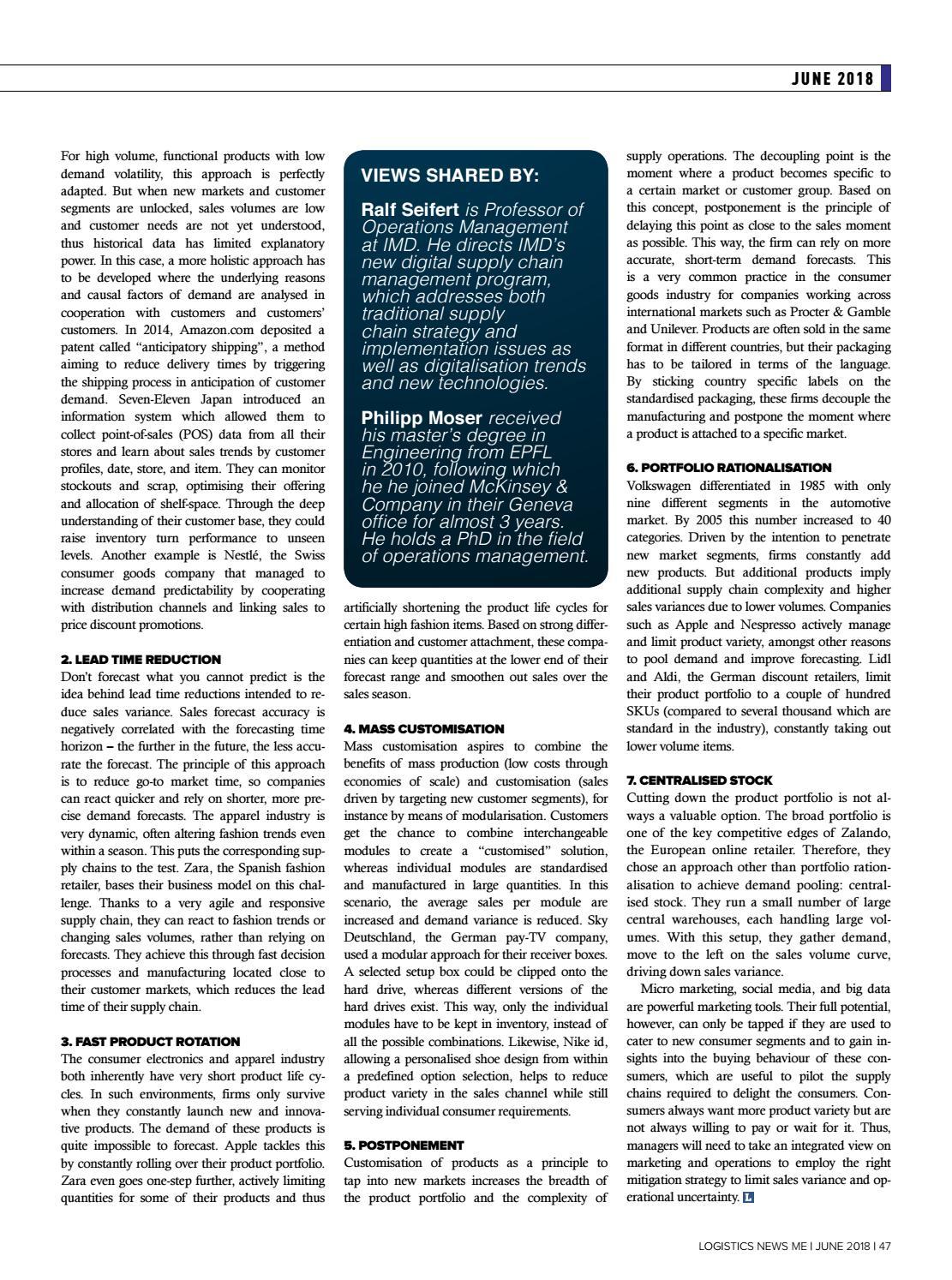 Logistics News ME - June 2018 by BNC Publishing - issuu