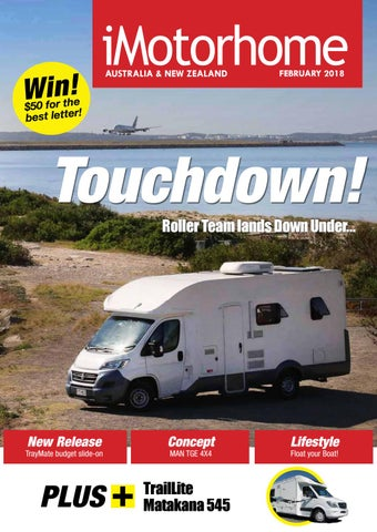 bc29f166103d iMotorhome Australia   NZ Issue 122 - February 2018. All about campervans  and motorhomes ...