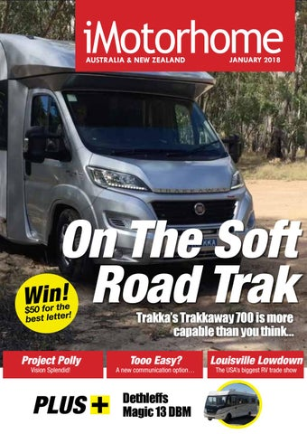 iMotorhome Magazine - Australia & New Zealand Issue 121 - January