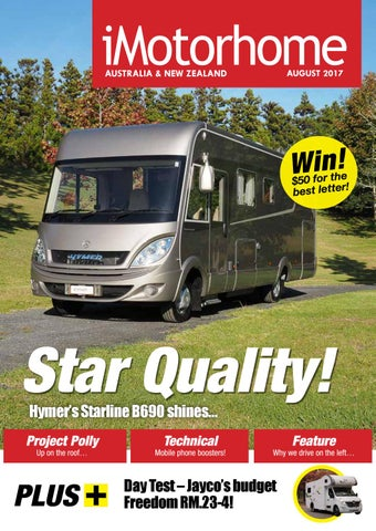 1ded2858dc iMotorhome Australia   New Zealand Issue 116 - August 2017 by ...