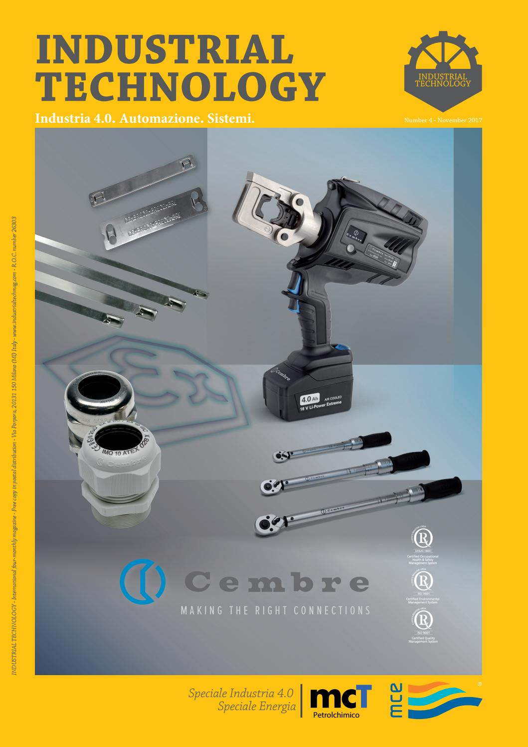 26ac5ccb6abf44 Industrial Technology 4/2017 by Industrial Technology - issuu