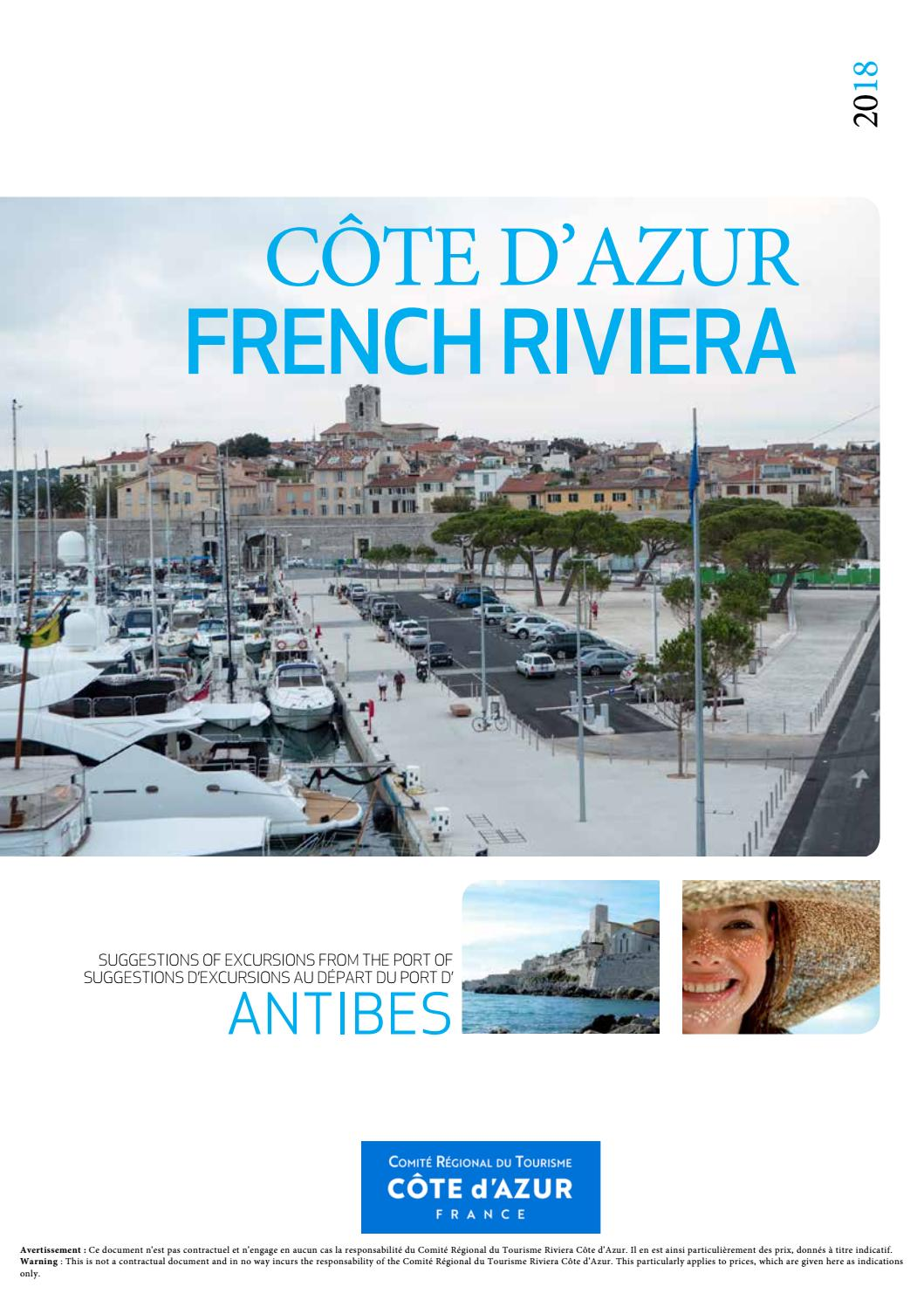 Excursions au départ du port d Antibes - Vauban - Côte d Azur by CCI Nice  Côte d Azur - issuu 3cf9852d6de