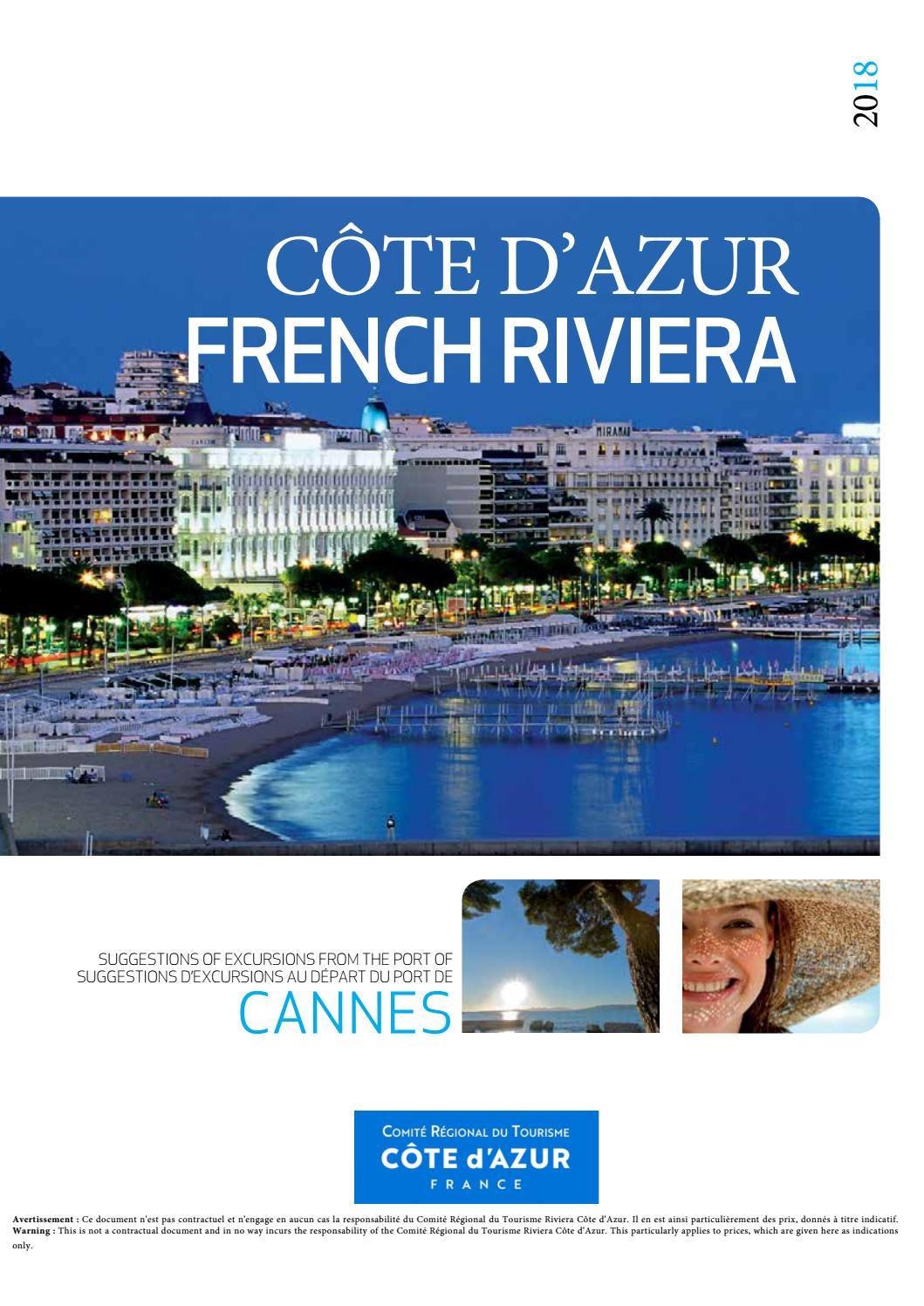 Excursions au départ du port de Cannes - Côte d Azur by CCI Nice Côte  d Azur - issuu 0bc63b01c1d