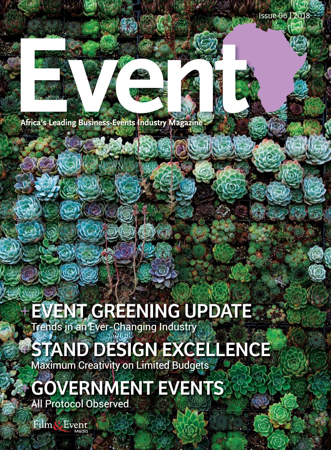 The Event Issue 06 by Film & Event Media - issuu