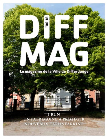 Diffmag 06 2018 By Ville De Differdange Issuu