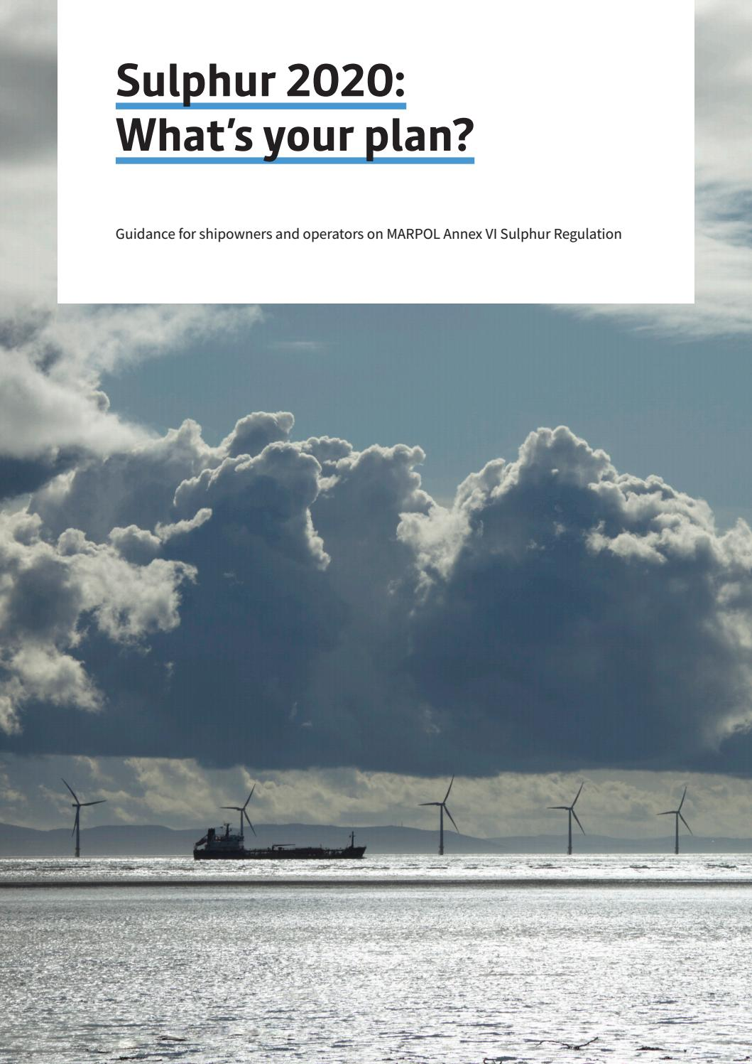 Sulphur 2020: what's your plan? Guidance document by lloyd's.