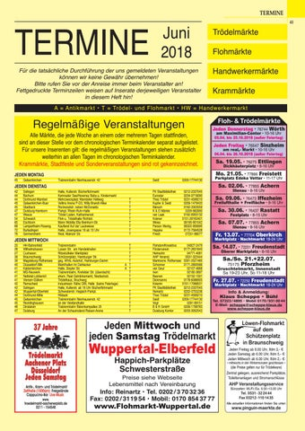 Termine Troedelmaerkte 0618 By Gemi Verlags Gmbh Issuu