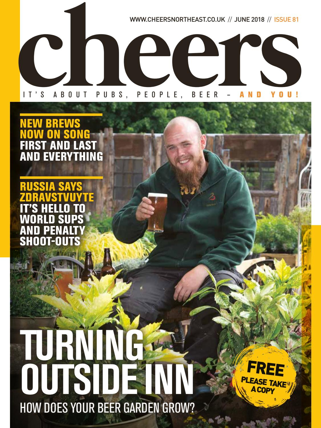 Cheers North East magazine #81 - May 2018 by Offstone