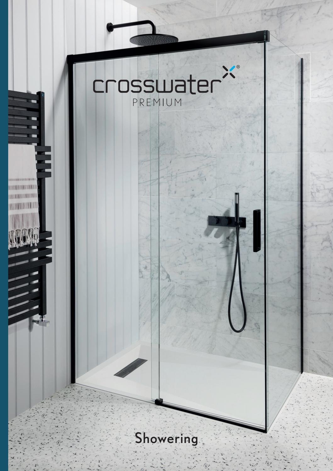 Wetroom Shower Glass Support Arm Adjustable from 690-1200mm  for 8-12mm Glass