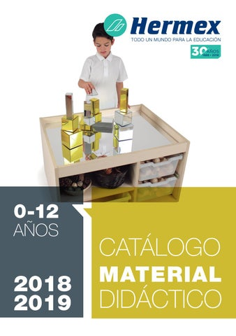 Issuu Hermex 2018 Escolar Didáctico 2019 By Material wq0pS6x