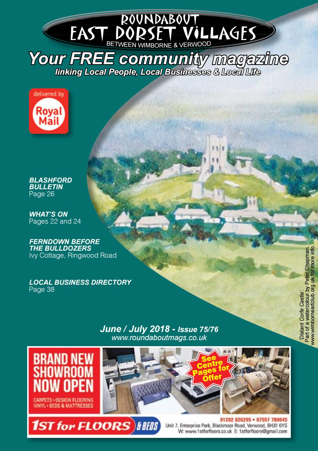 Roundabout East Dorset Villages June 2018 by Sue West - issuu
