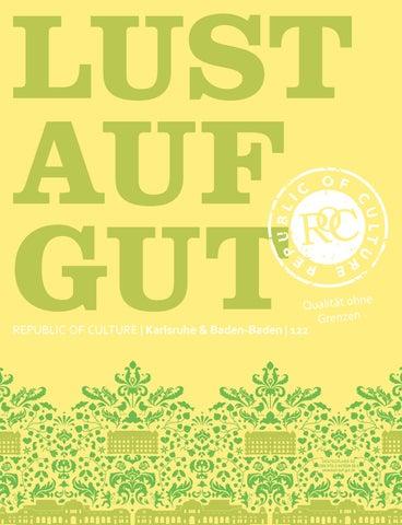 ff0b859271 e Qualität ohn Grenzen REPUBLIC OF CULTURE | Karlsruhe & Baden-Baden | 122