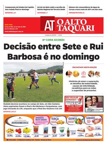 0d59649c8c Jornal O Alto Taquari - 11 de maio de 2018 by Jornal O Alto Taquari ...