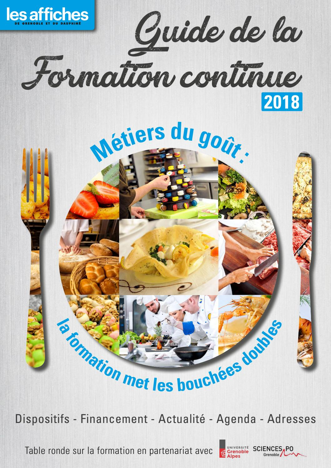 Formation 2018 By Les Affiches Issuu