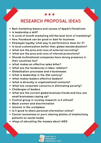 Best research proposal topics how to make business plan for beauty salon