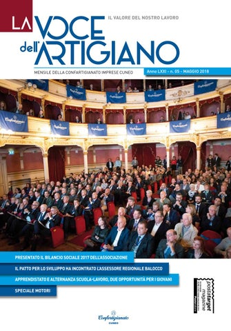 ad51f359f29a La Voce dell'Artigiano - Maggio 2018 by Confartigianato Cuneo - issuu