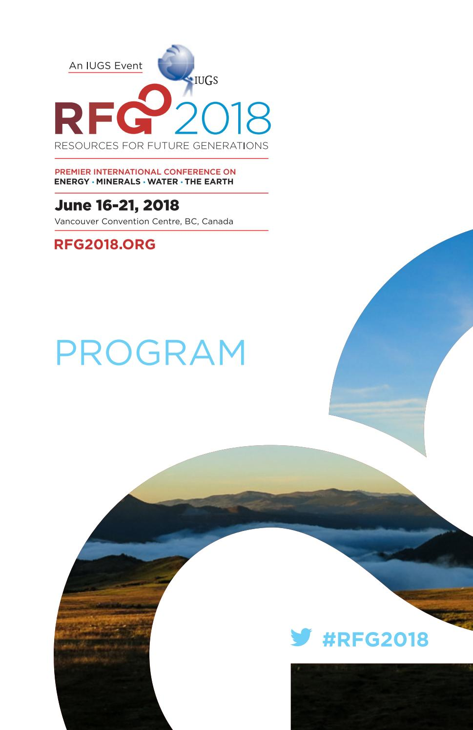 RFG 2018 Printed Program by CIM-ICM Publications - issuu