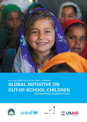 Unicef Report Out Of School Children In Afghanistan Global