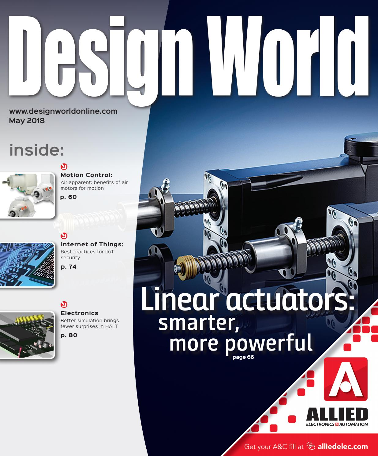 Design World May 2018 By Wtwh Media Llc Issuu Optical Encoder Pulse Counting With A Plc Quantum Devices Inc