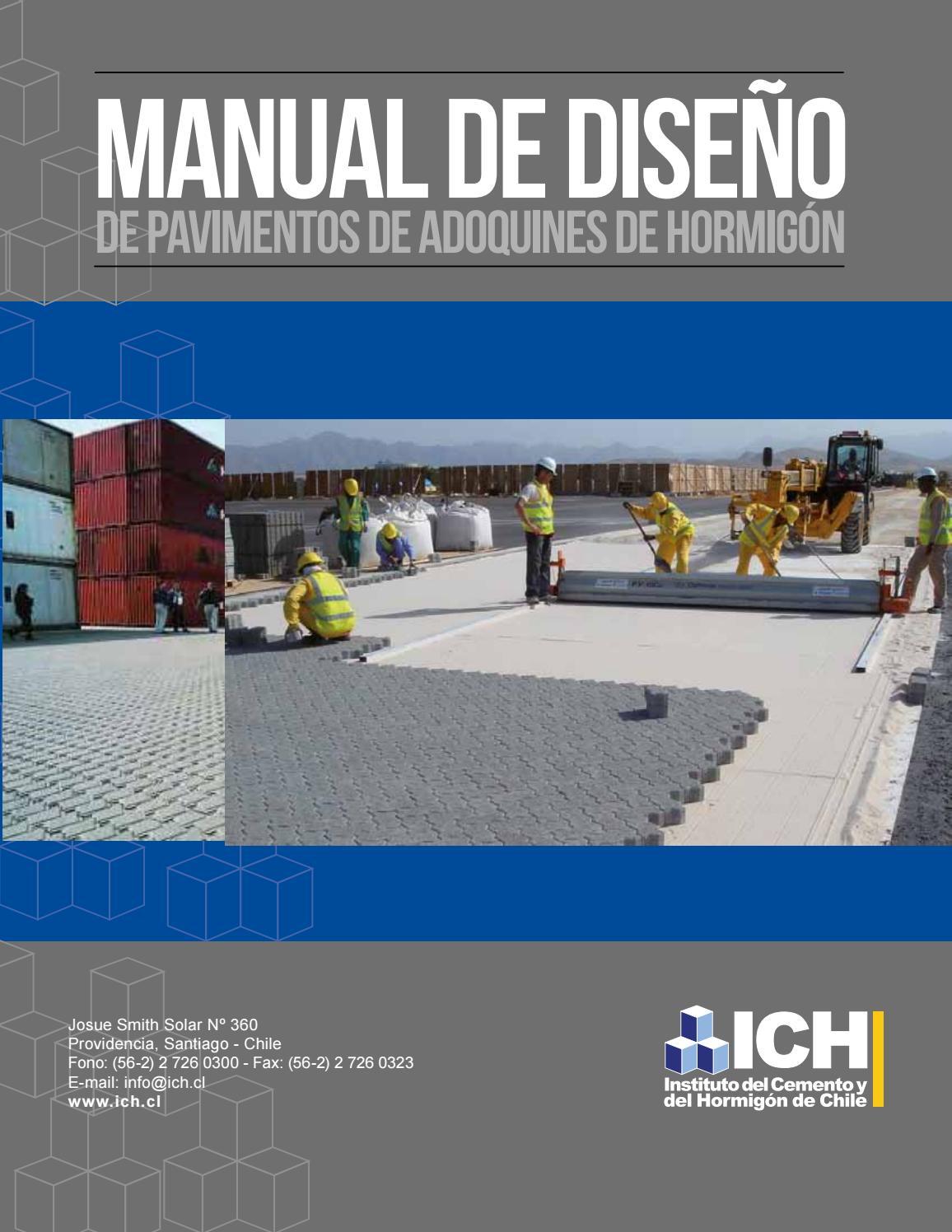 fotos de diseño de entrada de asfalto Manual Diseno De Pavimentos De Adoquines De Hormigon By