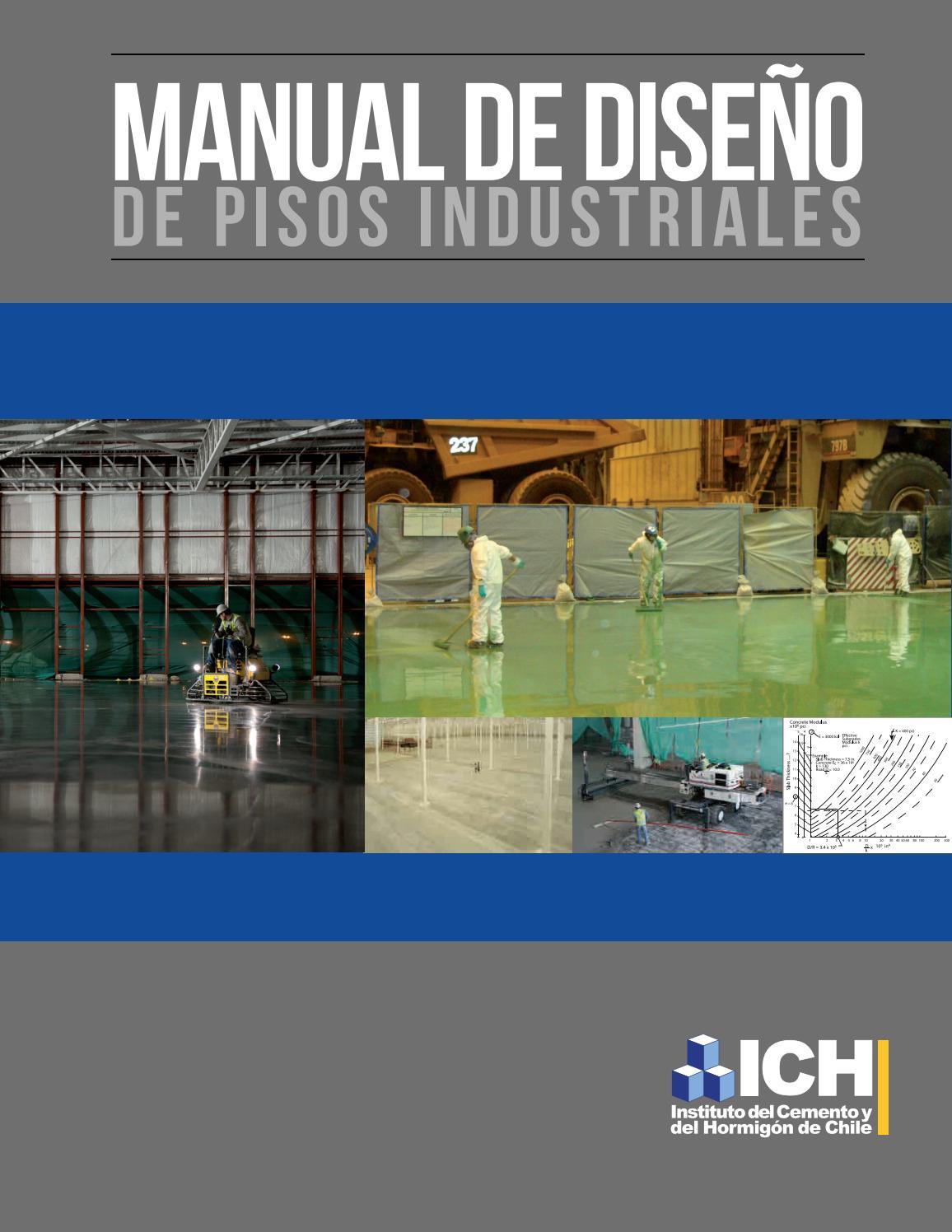 Manual Diseno De Pisos Industriales By Instituto Del Cemento
