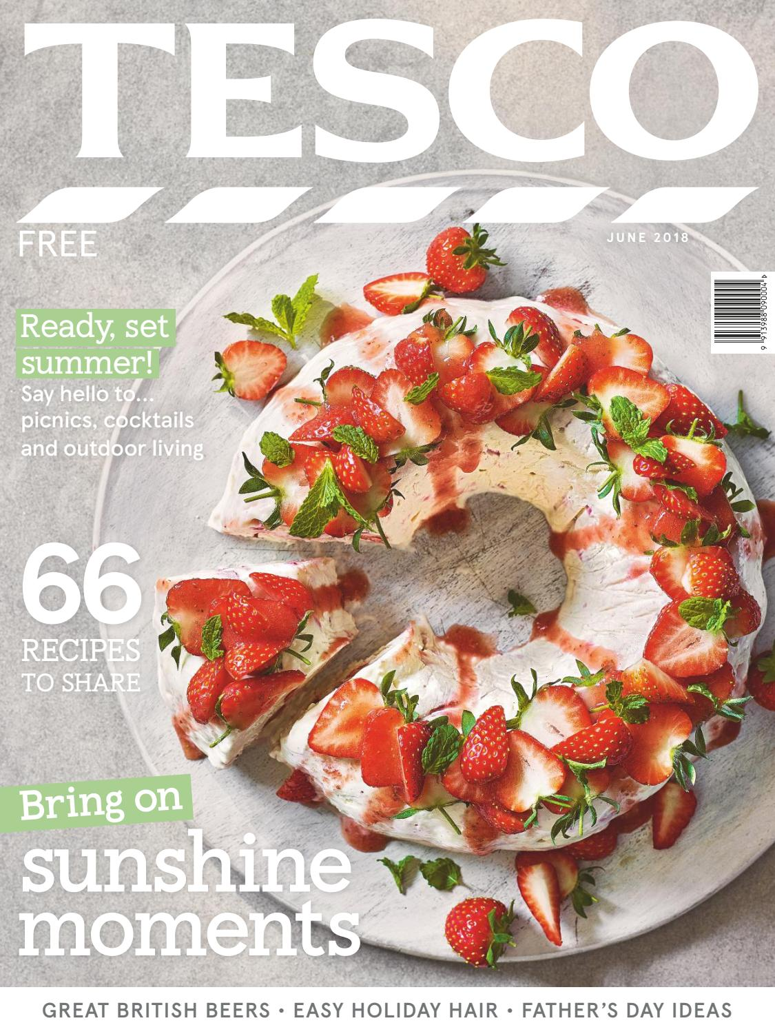 Tesco Magazine June 2018 By Issuu Wrp On The Go Strawberry Low Fat 200 Ml