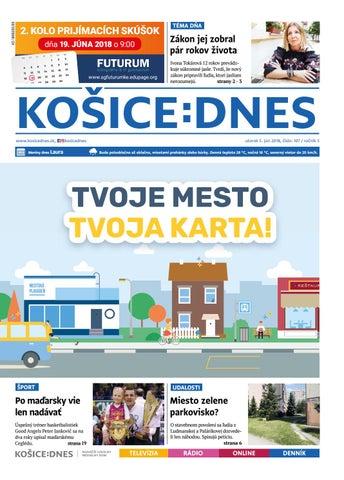 876cd38d5 Košice:DNES 5.6.2018 by KOŠICE:DNES - issuu