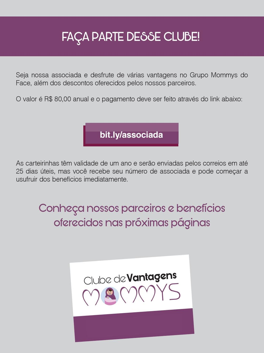 7a505e8af6bf6 Clube de Vantagens Mommys by Revista Mommys - issuu