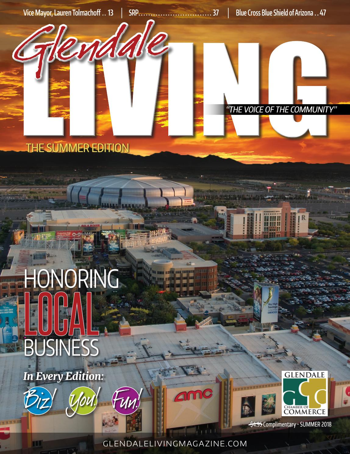 9ff3f34d5b7a0 Glendale LIVING Magazine Summer 18 by ROX Media Group - issuu