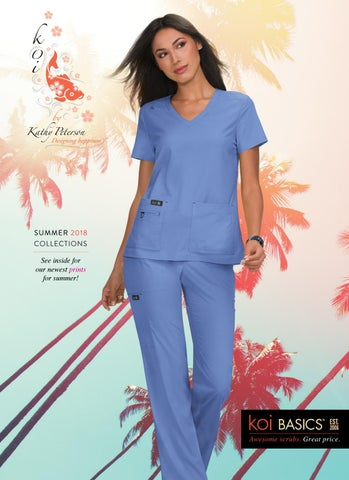 79a7dca7b9 2018 summer koi catalog by Lambert s Uniforms - issuu