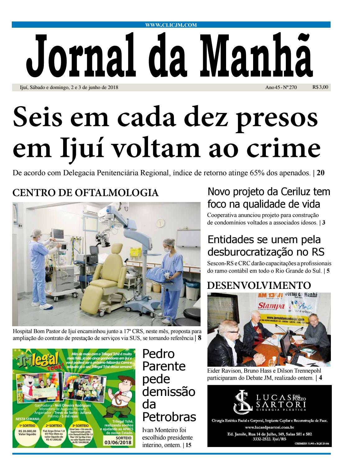 Jornal da Manhã - Sábado - 02-06-2018 by clicjm - issuu 5a784bc4062d8