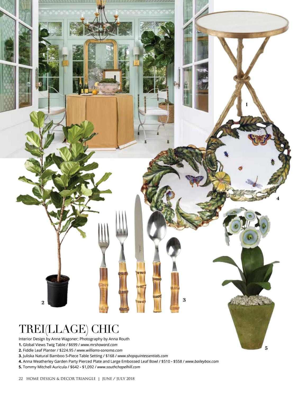 Triangle June July 2018 By Home Design Decor Magazine Issuu