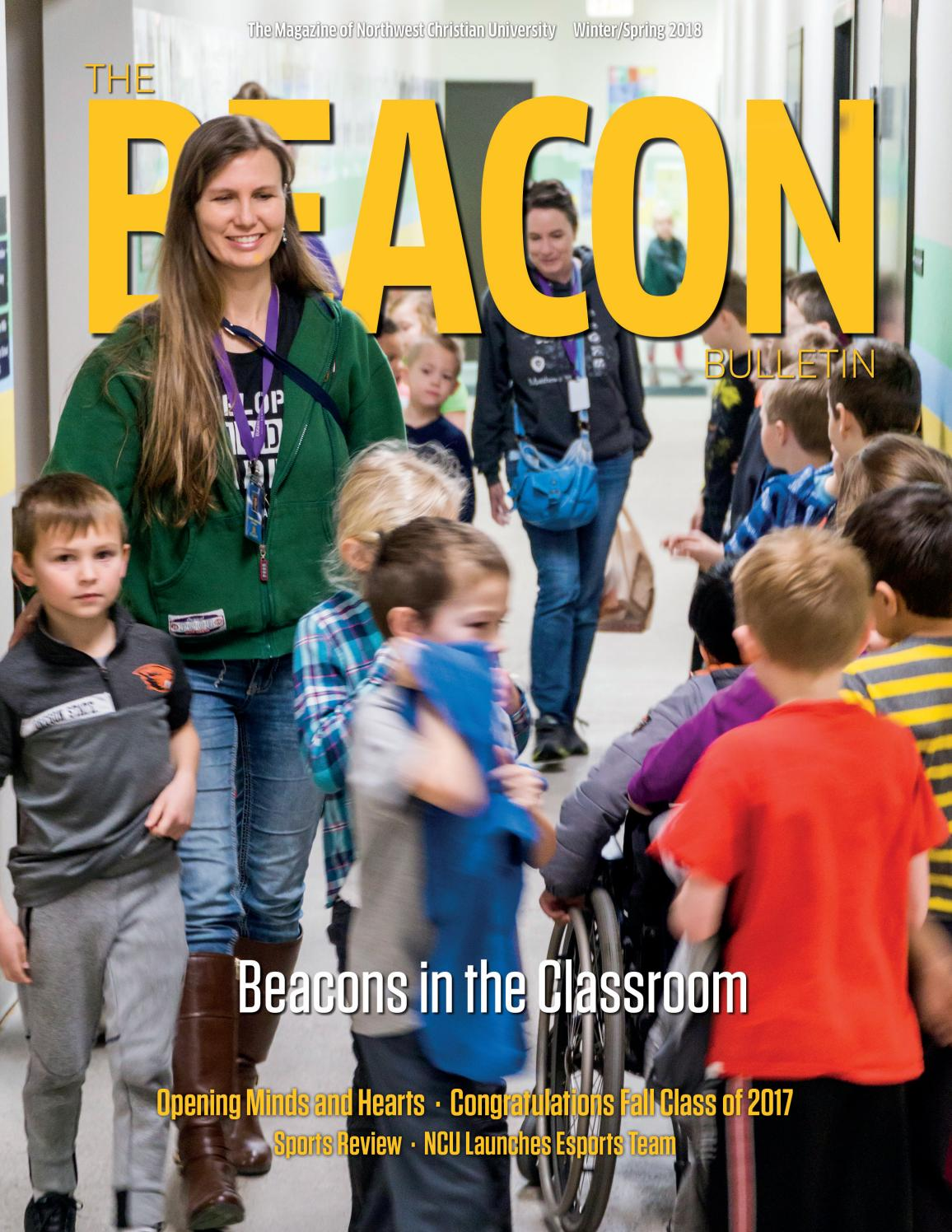 Beacon Bulletin - Spring 2018 by Northwest Christian