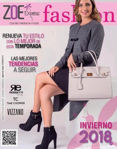 0861b6bcf5f Catálogo Dama calzado - Invierno 2018