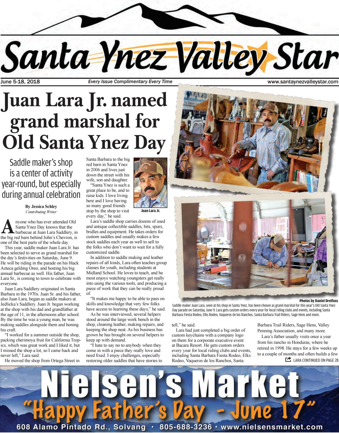 Santa Ynez Valley Star June A 2018 by Santa Ynez Valley Star