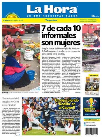 2ad90999b Ambato 03 de junio del 2018 by Diario La Hora Ecuador - issuu