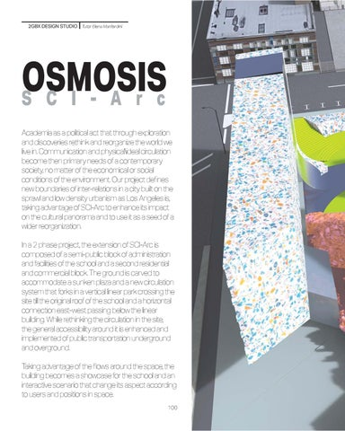 Page 100 of Osmosis SCI-Arc