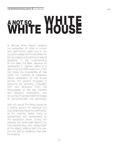 Page 70 of A Not So White White House
